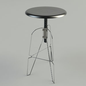3ds max covey 6 stool