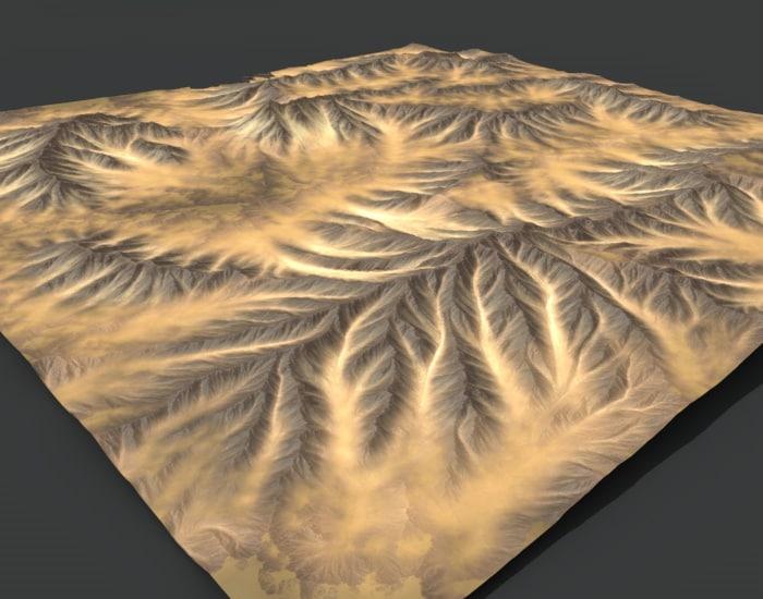 maya terrain