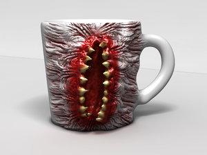 monster cup 3d c4d