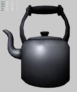 3ds old teakettle tea