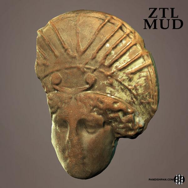 free scan head 3d model