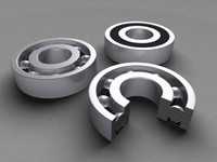 bearing ring 3d obj