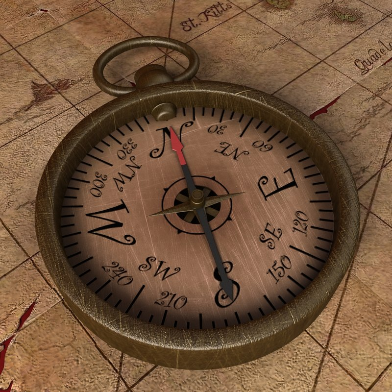 3ds max old compass