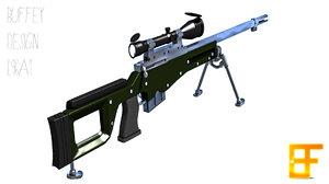 l96a1 scope bipod 3ds