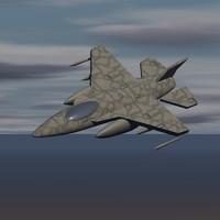 3d f-16 falcon