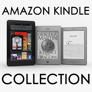 3d amazon kindle model