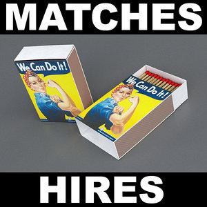 3d model matches