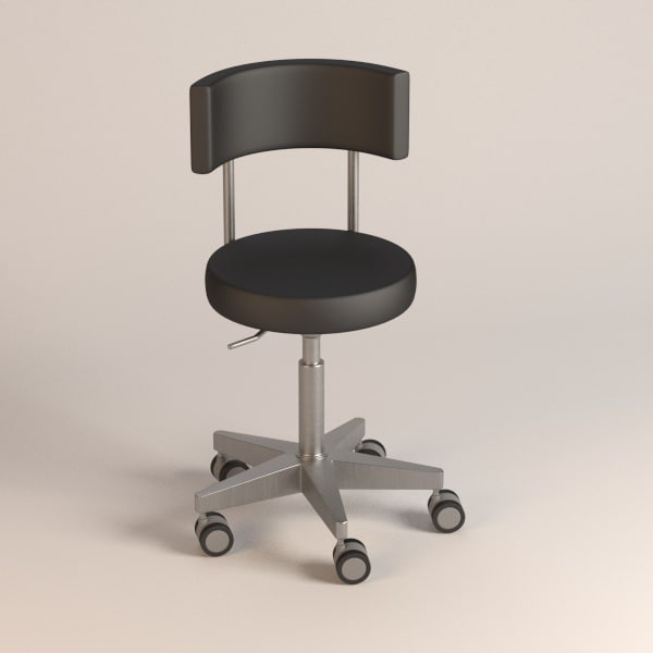 hospital chair 3d obj