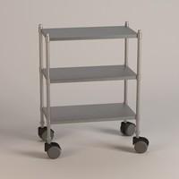 3d model hospital table