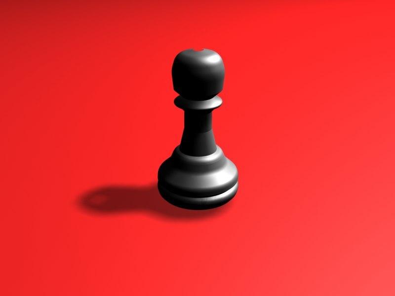 free pawn 3d model