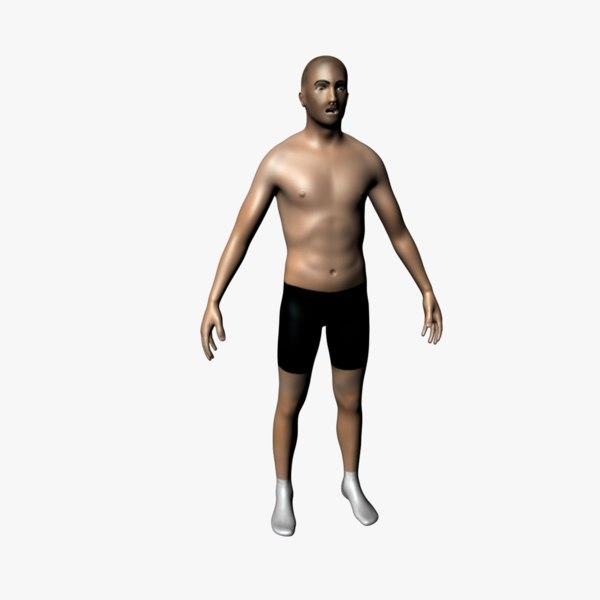 free ma model human body