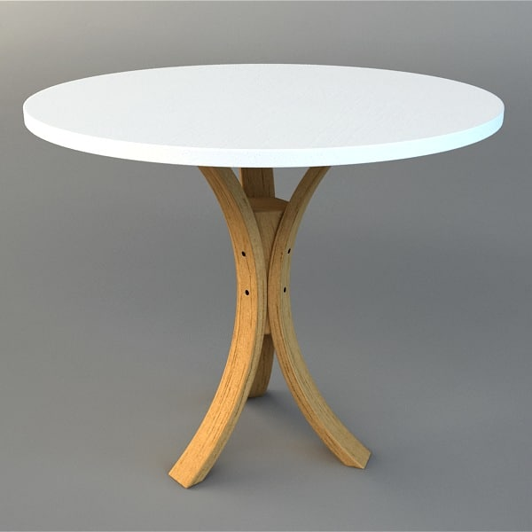 3d model table visualization