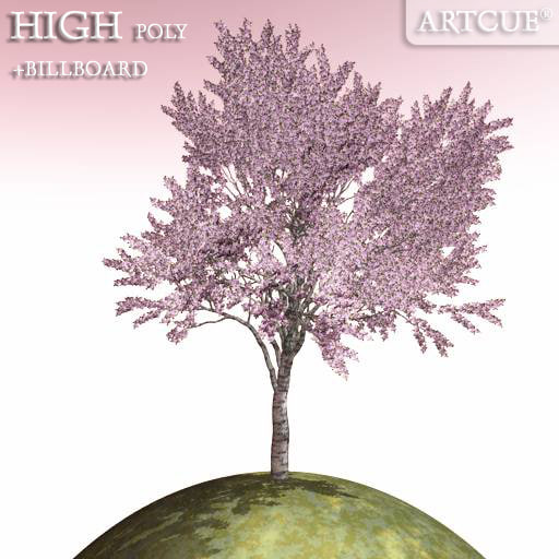 dxf tree high-poly billboard
