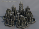Large fantasy castle