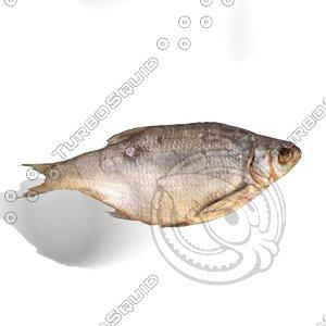 3d bream fish