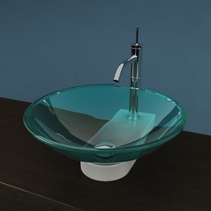 3d bathroom sink artceram model