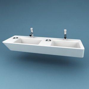3ds max bathroom sink