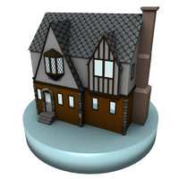 3ds house tudor