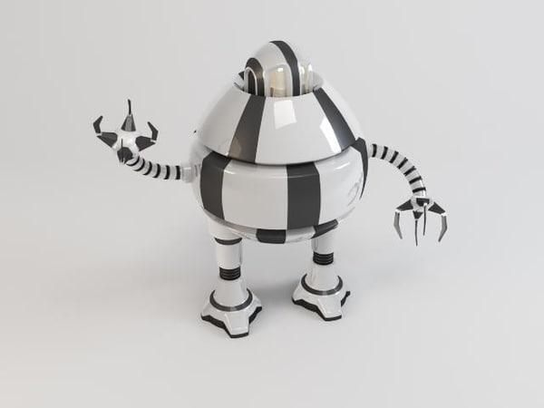 3d model robot d3b9