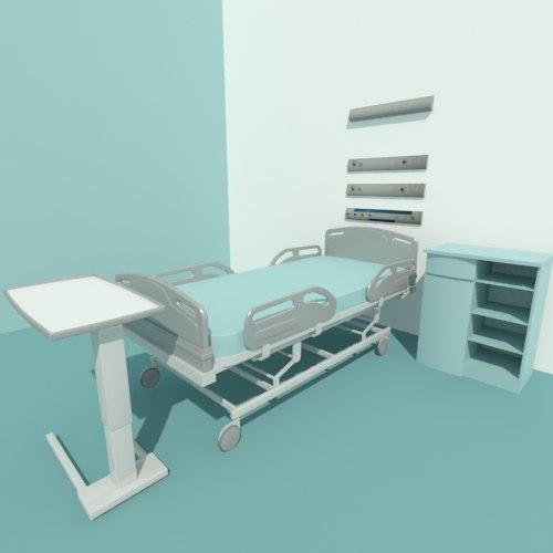 3d max hospital bed