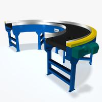 Conveyor - Belt Curve 180 Deg