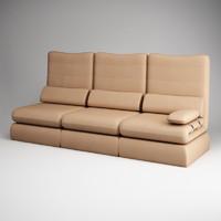 3d cgaxis modern sofa 06 model