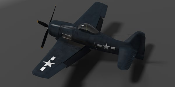 f8f bearcat fighter obj