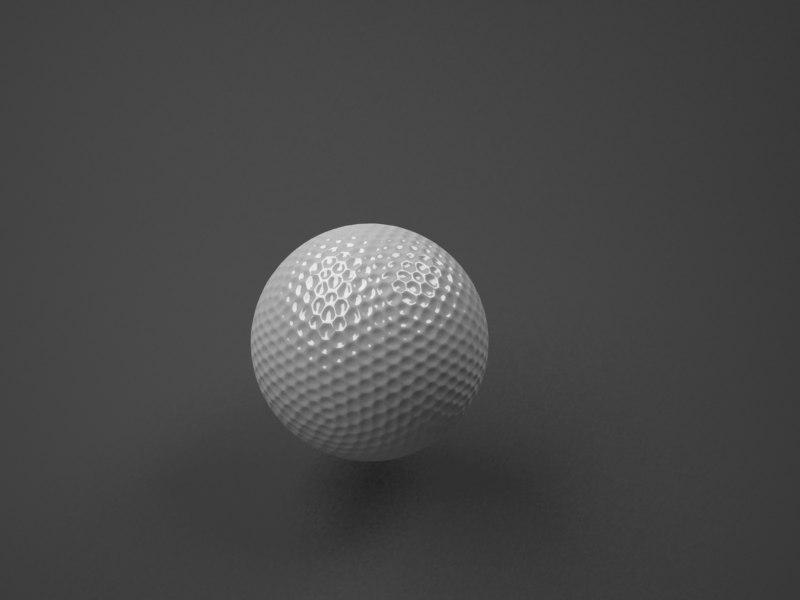 3ds golf ball