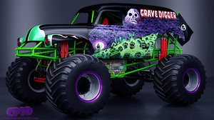 grave digger monster truck max