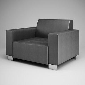 3d graphite armchair 11