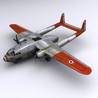 3d c-119 flying boxcar transport