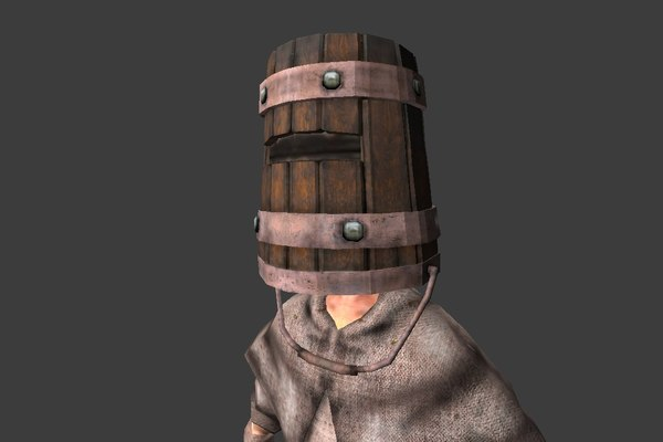ready character bucket 3d 3ds