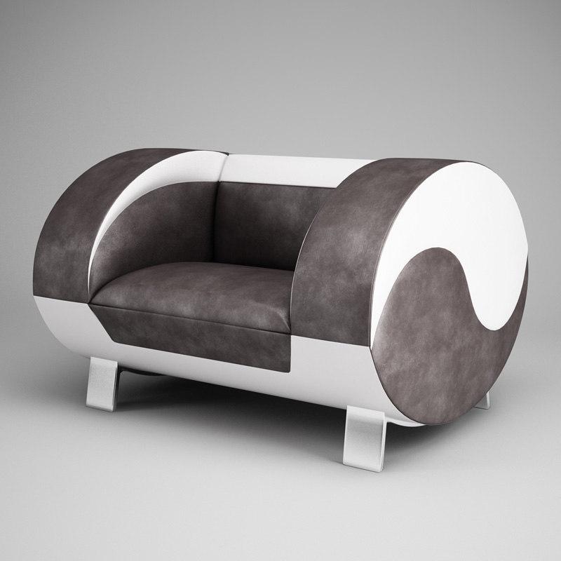 cgaxis modern armchair 17 max