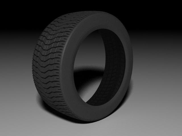 3d model of tyre 245 40 r17. Black Bedroom Furniture Sets. Home Design Ideas