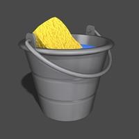 bucket sponge max