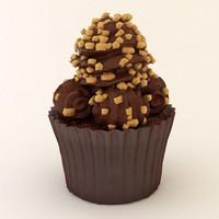 cupcake 07 3d model