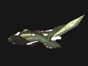 3d model doom ship