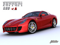 3d model ferrari 599 fiorano 2