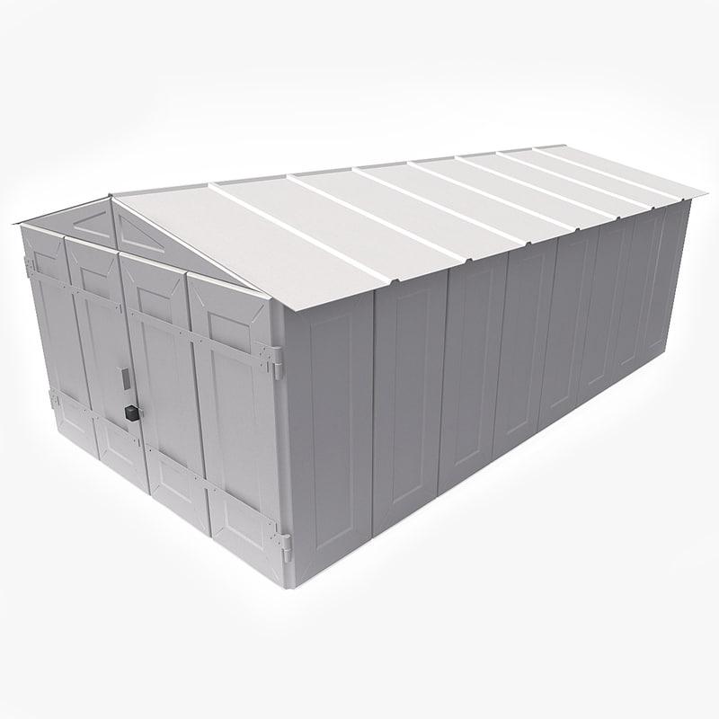 3d model garage v1