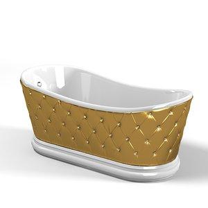 lineatre tufted bath max