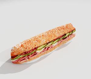 sandwich 3d x
