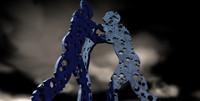 3d molecule man