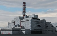 3dsmax chernobyl nuclear power plant