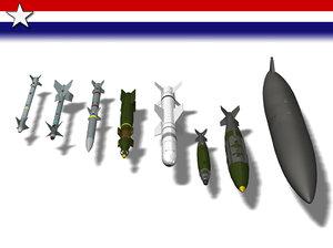 lwo missiles bombs mission f15