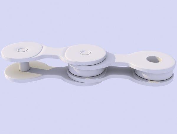 3d model bike chain