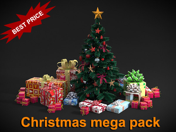 3d max christmas mega pack