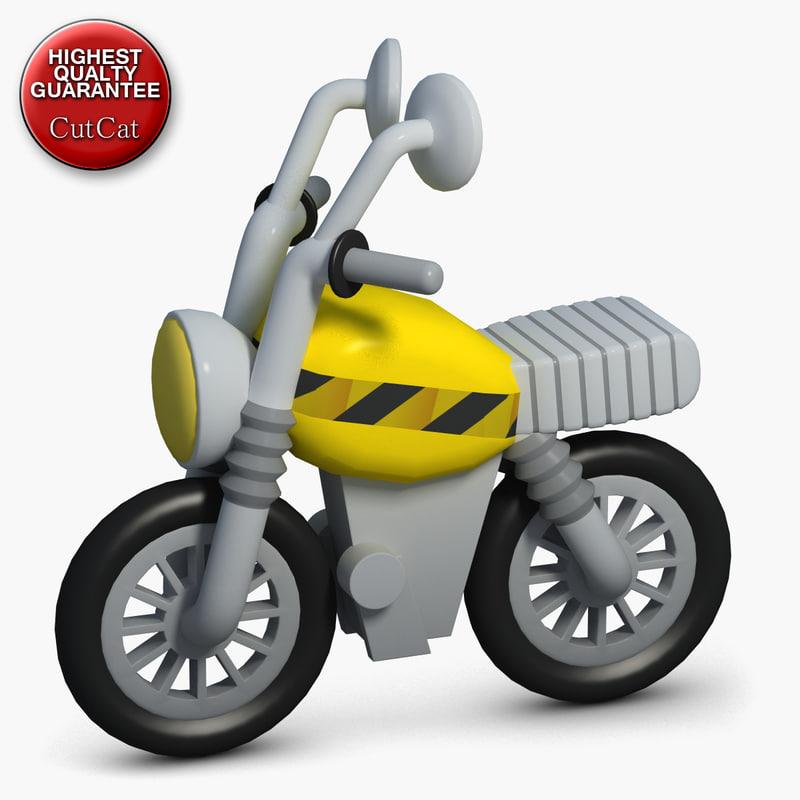 maya construction icons 20 motorcycle