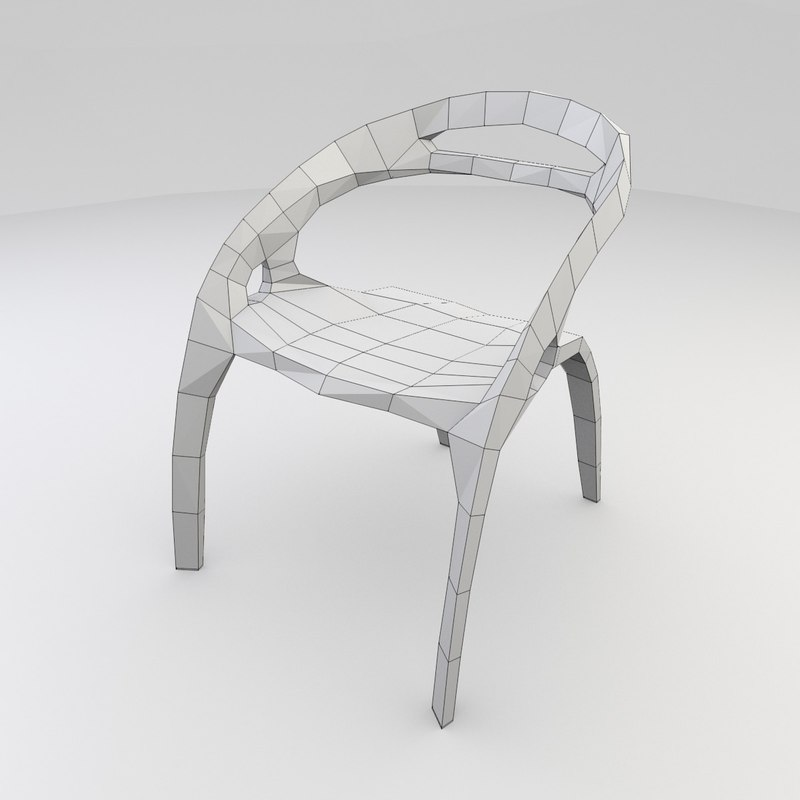 3d model ross lovegrove chair