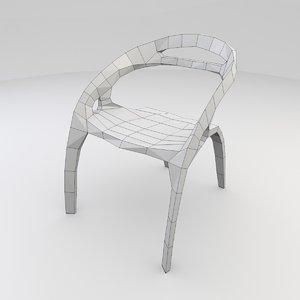 3d model ross lovegrove chair