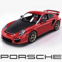 3d porsche 911 gt2 rs